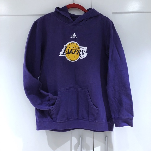 get cheap elegant shoes purchase cheap Adidas LA Lakers Sweatshirt Hoodie
